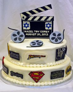 Clever idea for the Groom cake Hollywood Cake, Hollywood Party, Birthday Ideas, Birthday Parties, Groom Cake, Wedding Planning, Wedding Ideas, Cake Bars, Bar Mitzvah