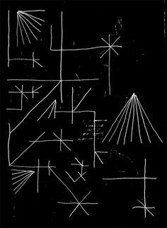 jake evans - makes me think of Vonnegut drawings.