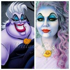 This Ursula make-up is amazing!