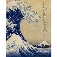 la grande vague de kanagawa par hokusai coloriage tableau peintres c l bres pinterest. Black Bedroom Furniture Sets. Home Design Ideas