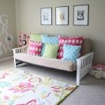 Love this fabric! Ordered my crib bedding using all of them :) Now I just need to find a matching rug.