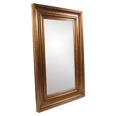 Howard Elliott Baxter Antique Gold Mirror 90H x 58W x 3D - 43072