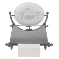 Wieszak na papier toaletowy Eau de roses - BelleMaison.pl