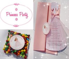 This week I had so many orders for Princess Invitations, that I kept seeing pink everywhere I turned. I designed a custom invitation for a l. Princess Invitations, Birthday Invitations Kids, Custom Invitations, Invitation Cards, Invites, Princess Birthday, 7th Birthday, Princess Party, Shapes For Kids