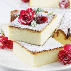 Sernik tradycyjny | AniaGotuje.pl Mini Marshmallows, Polish Desserts, Cheesecake Cookies, Sweet Recipes, Biscotti, Panna Cotta, Dessert Recipes, Food And Drink, Cooking