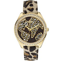 Watches - Black and Gold-Tone World of Treasures Watch Bracelet Cuir, Bracelet Watch, Selling On Pinterest, Rose Gold Watches, Fashion Watches, Black And Brown, Pattern, Accessories, Vampire Clothing