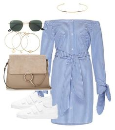 Untitled #4060 by theeuropeancloset on Polyvore featuring Bing Bang, Ray-Ban and Jennifer Fisher