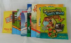 ABeka Discovering God's World, Place Value Cards, Reading  Homeschool / School  #TextbookBundleKit