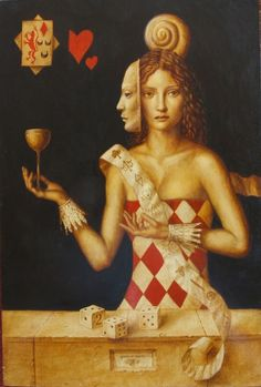 Queen of Cups - Jake Baddeley - the ability of observating the soul is a rare gift. cherish this gift and use it to help others.
