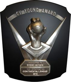 Steve Haynes: CY YOUNG WINNER. Only 8 players in the modern era can say that.