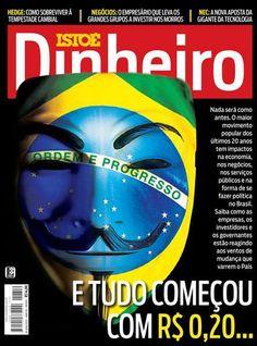 O alcance das manifestações em 2013 na web chegou a mais de 600 milhões de internautas, com uma quase unanimidade a favor dos protestos - AnonymousBr4sil - Estamos em todos os lugares!