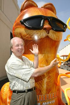Jim Davis, Creator of Garfield, from Marion Indiana I believe