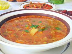 chorba algerienne Turkish Recipes, Ethnic Recipes, New Recipes, Cooking Recipes, Algerian Recipes, Oriental Food, Eastern Cuisine, Middle Eastern Recipes, Arabic Food