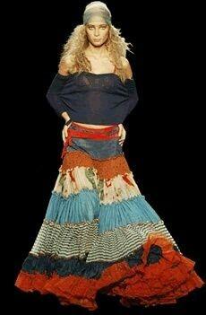 Este é meu estilo! Vestir uma saia é vestir - se de magia e de mistérios...