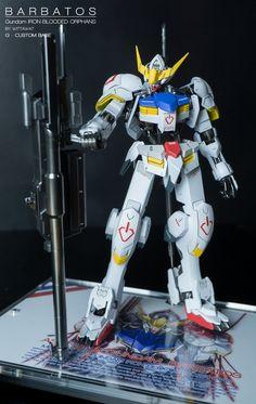 Custom Build: 1/100 Gundam Barbatos - Gundam Kits Collection News and Reviews