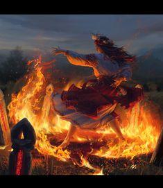 🏞 by Diana Khomutina 🎥: The Ransomed Dragon Dark Fantasy Art, Fantasy Artwork, Fantasy World, Celtic Fantasy Art, Fantasy Character Design, Character Inspiration, Character Art, Dungeons And Dragons, Medieval Fantasy