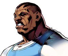 Balrog (M. Bison in Japan) Balrog Street Fighter, M Bison, Super Street Fighter, Street Fights, Marvel Vs, Concept Art, Video Games, Japan, Artist