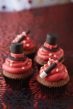 Magic hocus pocus cupcakes