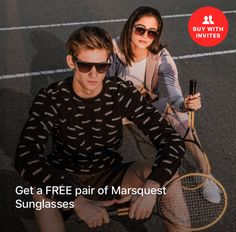 a02228e911 Free Marsquest Sunglasses for Inviting Friends to Sweatcoin. (Limited Time  Offers Change) Invite