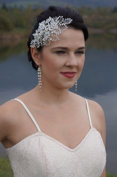Crystal tiara.