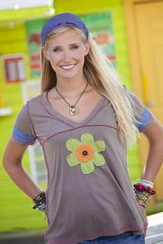 Flower Festival Tee From Natural Life #naturallife