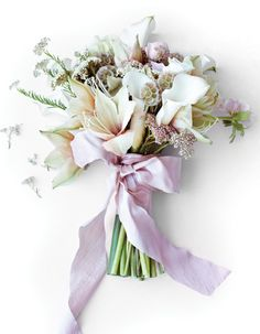 stunning pale purple bouquet via Sweet Paul's wedding issue Wedding Ceremony, Our Wedding, Dream Wedding, Wedding Things, Wedding Stuff, Wedding Dreams, Lily Boutique, Pastel, White Lilies