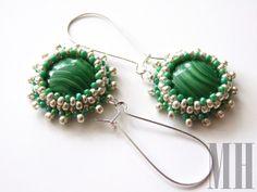 Zielono srebrna fantazja | MH Biżuteria - cuda ręcznie wykonane