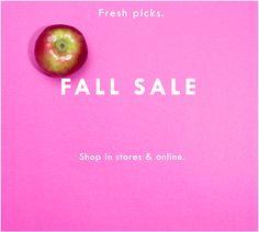 Fall Sale from JCrew