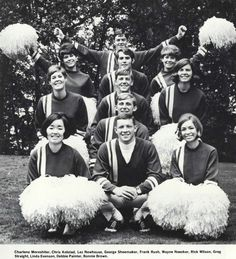 Oregon cheerleaders 1968-69. From the 1969 Oregana (University of Oregon yearbook). www.CampusAttic.com