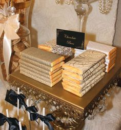 Old Hollywood Glam Wedding Party Ideas | Photo 1 of 16 | Catch My Party