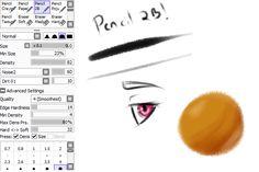 2B Pencil Brush by tsukikalynn