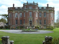 Chettle House ~ English baroque manor house built in 1710 in Dorset England