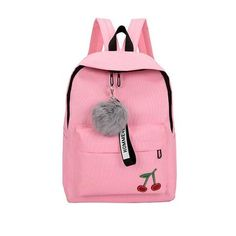 04fd518bf1 cute printing teen girls backpack female schoolbag for teenagers High  school student nylon back pack women bag College wind