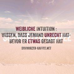 WEIBLICHE INTUITION