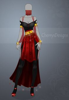 (closed) Auction Adopt - Outfit 446 by CherrysDesigns on DeviantArt