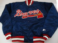 Houston Astros jacket satin baseball vintage M med Felco Starter ...