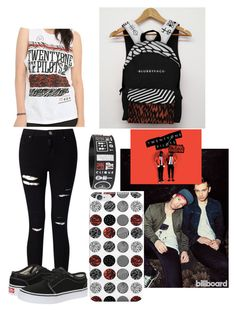 """""""TØP"""" by talaylay123 on Polyvore featuring Miss Selfridge and Vans"""