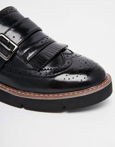 Image 4 ofLondon Rebel Chunky Strap Flatform Shoes