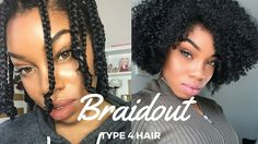 The Perfect Braidout for Type 4 Natural Hair [Video] - https://blackhairinformation.com/video-gallery/perfect-braidout-type-4-natural-hair-video/