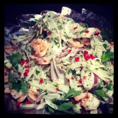 Prawn and fennel salad - Food From Flossie