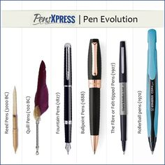 Did You Know The First Type Of Pen Was Found In 3000 B C
