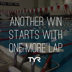 Go the extra mile. #TYR #MotivationalMonday