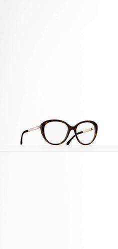 63b4950612d3 Chanel Classiques - acétate & métal-noir Round Glass, Eyeglasses, Frames,  Glasses