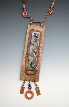 polymer, copper Pam Sanders Art