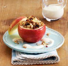 Gefüllter Bratapfel mit Vanillecreme Rezept