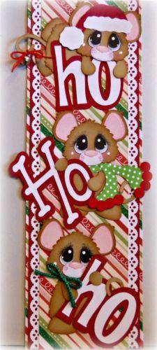 ELITE4U Scrappinwmn Premade Scrapbook Page Ablum Christmas Border Paper Piecings | eBay
