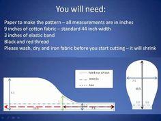 Scrub Cap: DIY Tutorial - Learn How To Make A Surgical Scrub Cap | Skillfeed: