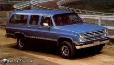 1984 Suburban - Oh the memories...and the numerous calls for a wrecker to pick us up.