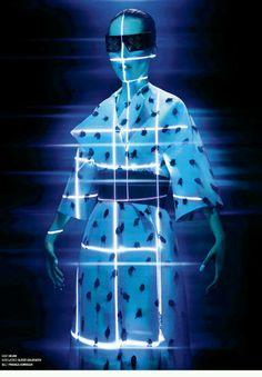 """The Rise of Rinko"""" » V Magazine [84]  Mo: Rinko Kikuchi St: Nicola Formichetti Ph: Tim Richardson"""