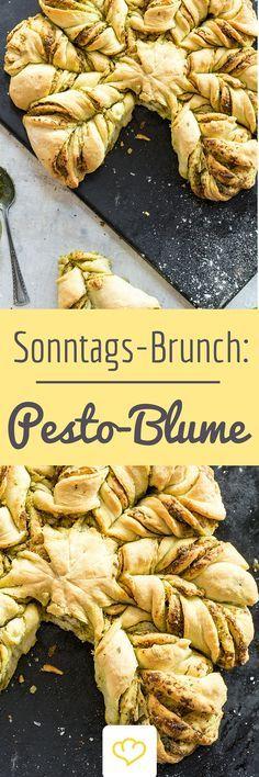 Pesto.Blume - garantiert der Hingucker beim nächsten Sonntags-Brunch!
